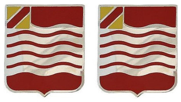 Army Crest: 15th Field Artillery- pair