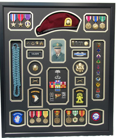 U.S. Airborne Display with Beret
