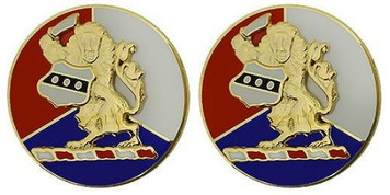 Army Crest: 28th Infantry Division: Pennsylvania Army National Guard- pair
