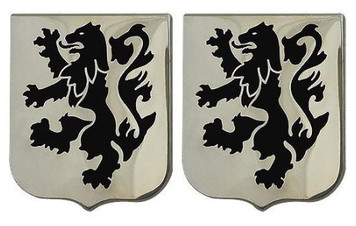 Army Crest: 28th Infantry Regiment- pair