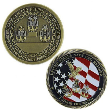 Navy Coin: Navy Retired Chief