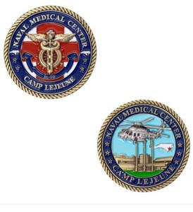 Navy Coin: Naval Hospital Camp Lejeune
