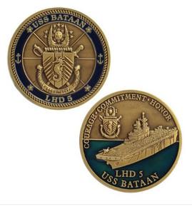 Navy Coin: USS Bataan