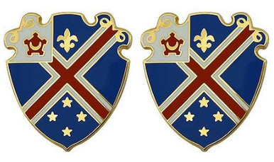 Army Crest 29th Engineer Battalion- pair