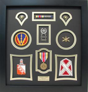US Army Specialist Shadow Box Display