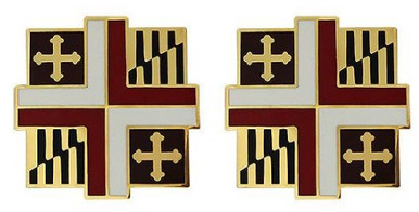Army Crest: 309th Medical Group- pair