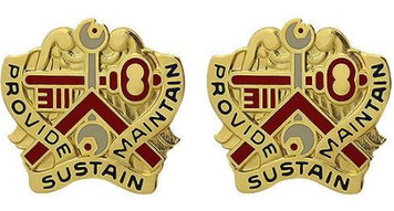 Army Crest: 311th Sustainment Command - Provide Sustain Maintain- pair