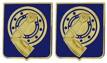 Army Crest: 34th Armor Regiment- pair