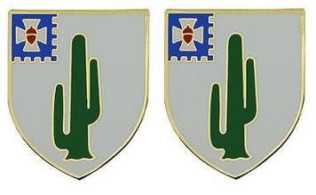Army Crest: 35th Infantry Regiment- pair