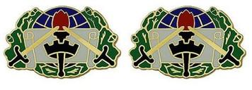 Army Crest: 364th Civil Affairs Brigade- pair