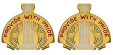 Army Crest: 43rd Sustainment Brigade - Provide with Pride- pair