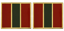 Army Crest: 4th Infantry Regiment- pair