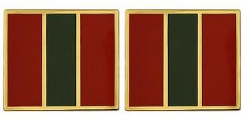 Army Crest: 4th Infantry Regiment- pair