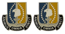 Army Crest: 4th Maneuver Enhancement Brigade - Animus Omnia Vincit