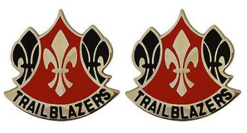 Army Crest: 70th Training Division – Trailblazers- pair