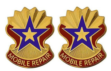 Army Crest: 71st Support Battalion - Mobile Repair- pair