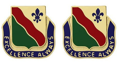 Army Crest: 787th Military Police Battalion - Excellence Always- pair