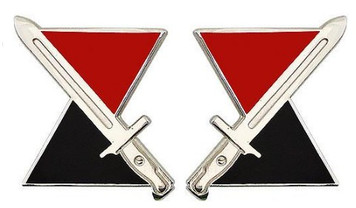 Army Crest: 7th Infantry Division- pair