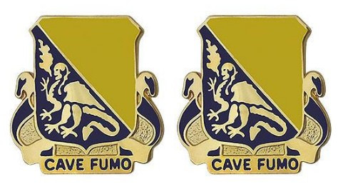 84th Chemical Battalion Patch