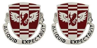 Army Crest: 864th Engineer Battalion - Aliquid Expectavit