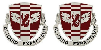 Army Crest: 864th Engineer Battalion - Aliquid Expectavit