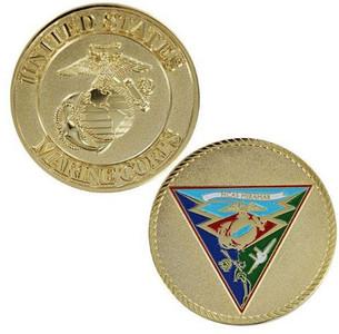 "Marine Corps Coin: 1 3/4"" MCAS Miramar"