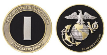 Marine Corps Coin: 1st Lieutenant