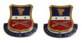 Army Crest: Army Reserve Careers Division Motto - Enihilum Parum- pair