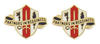 Army Crest: Army Reserve Joint and Special Troops Support Command- pair