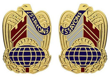 Army Crest: Corp of Engineer – Essayons- pair