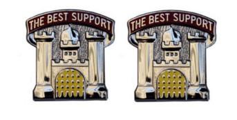 Army Crest: Dentac Landstuhl - The Best Support- pair