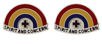 Army Crest: Dental Hawaii - Spirit and Concern- pair