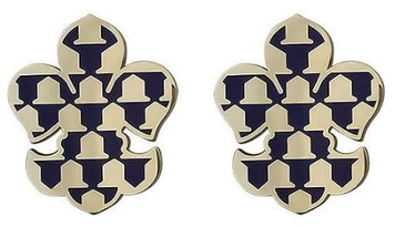 Army Crest: First Brigade First Infantry Division- pair