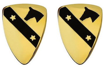 Army Crest: First Cavalry Division- pair