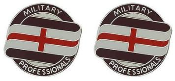 Army Crest: Fort Polk Dentac - Military Professionals- pair