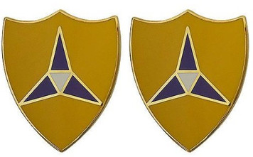Army Crest: III Corps- pair