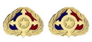 Army Crest: Individual Ready Reserve- pair
