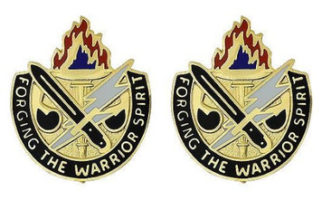 Army Crest: Joint Readiness Training Center - Forging the Warrior Spirit- pair