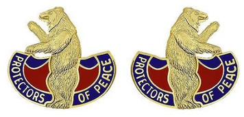 Army Crest: Missouri National Guard - Protectors of Peace- pair
