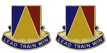 Army Crest: National Training Center - Lead Train Win- pair