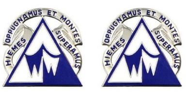 Army Crest: Northern Warfare Training Center- pair