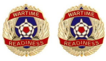 Army Crest: Operations Support Airlift Command - Wartime Readiness- pair