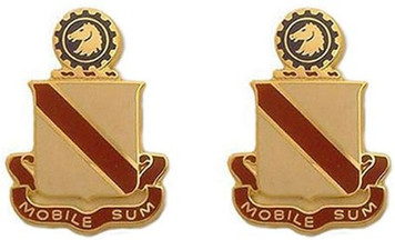 Army Crest: Second Support Battalion - Mobile Sum- pair