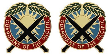 Army Crest: Special Operations Command Pacific - Guardians of the Pacific- pair