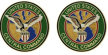 Army Crest: US Army Element Central Command - U.S. central command- pair