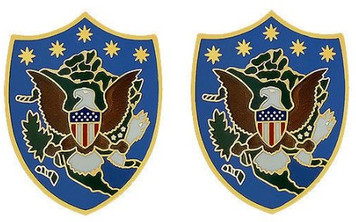 Army Crest: US Northern Command - Army Element- pair