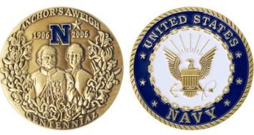 Coin: Anchors Aweigh Centennial