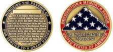 Coin: USA Presenting the Flag