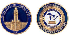 Coin: US Navy Great Lakes