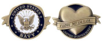 Navy I Love My Sailor